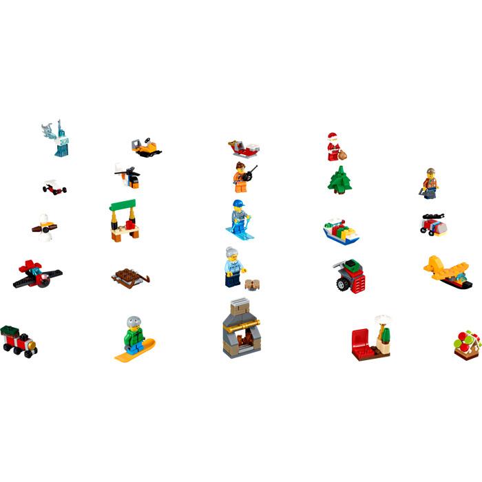 Lego City Advent Calendar Set 60155 Brick Owl Lego Marketplace