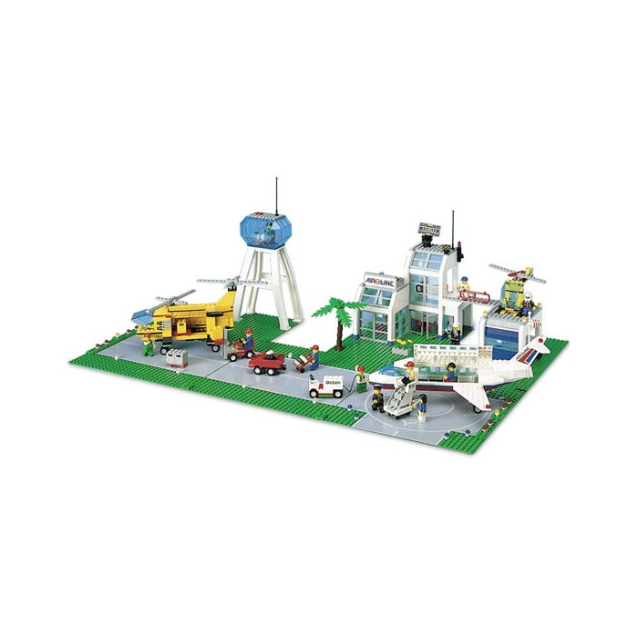 lego city airport instructions