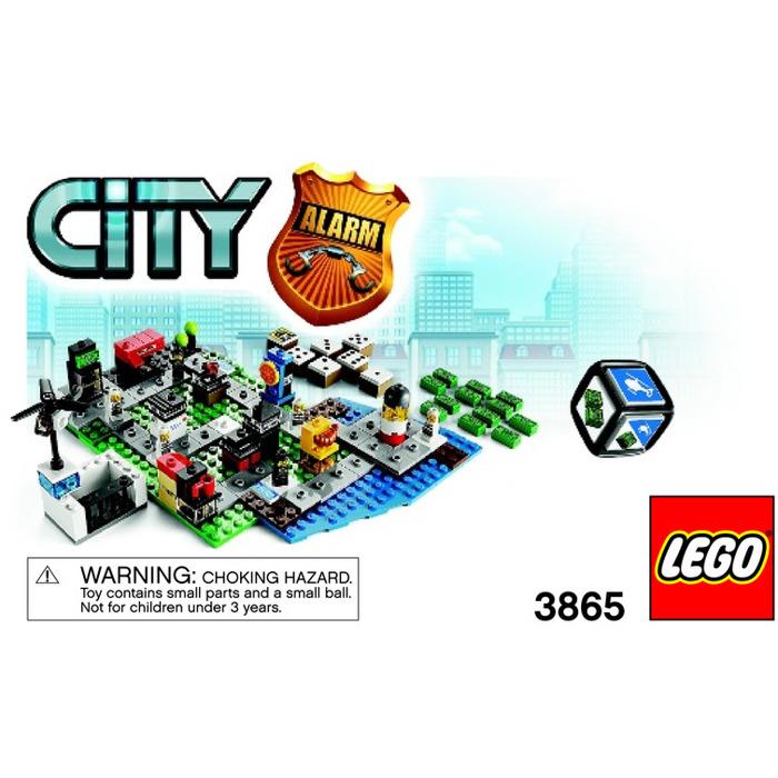 Lego City Alarm 3865 Instructions Brick Owl Lego Marketplace