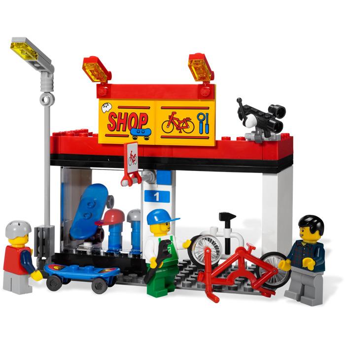 how to draw a lego city set