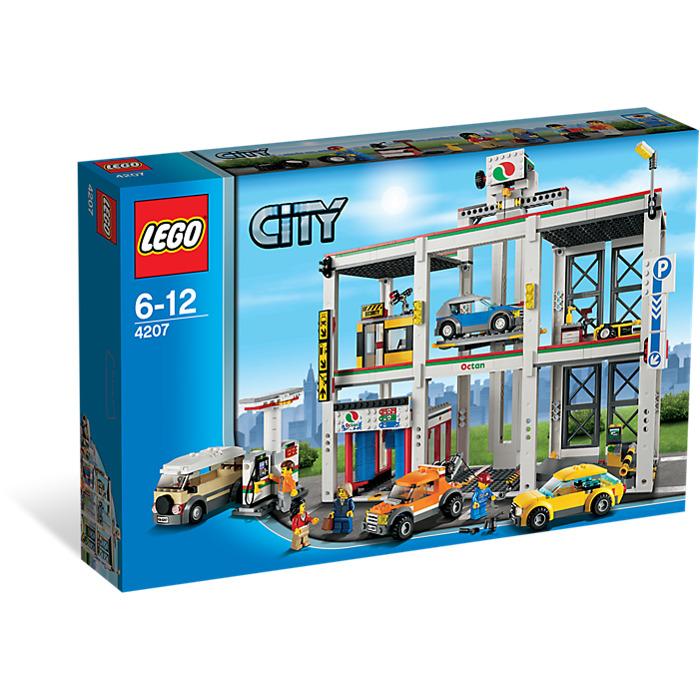 Lego city garage set 4207 brick owl lego marketplace - Image lego city ...