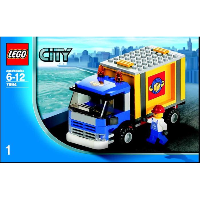 LEGO City Harbour Set 7994 Instructions