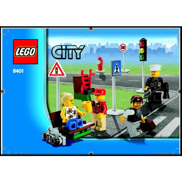 how to make a mini lego city