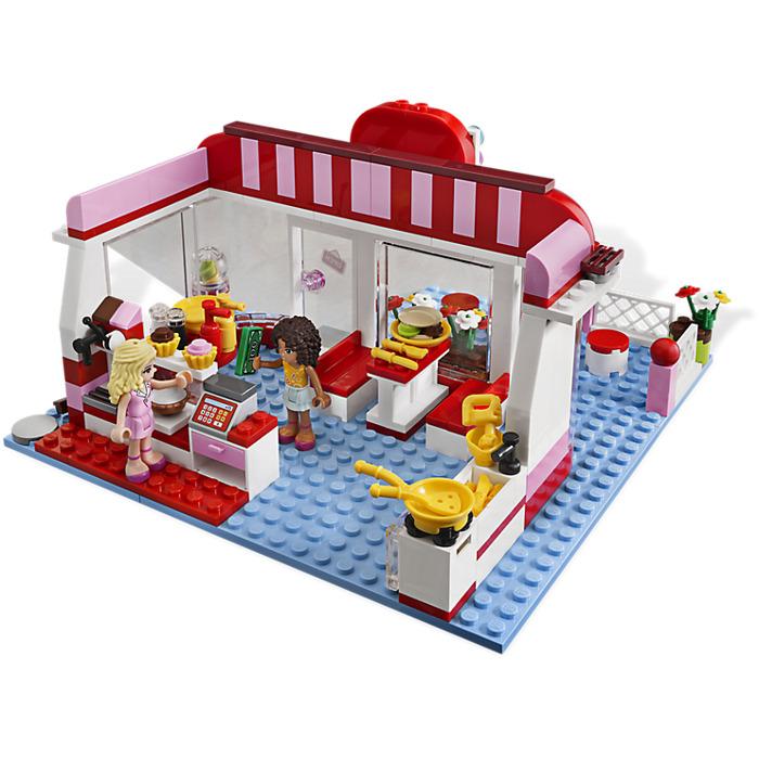 Lego City Park Cafe Set 3061 Brick Owl Lego Marketplace
