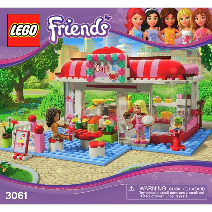 Lego City Park Cafe Set 3061 Instructions Brick Owl Lego Marketplace