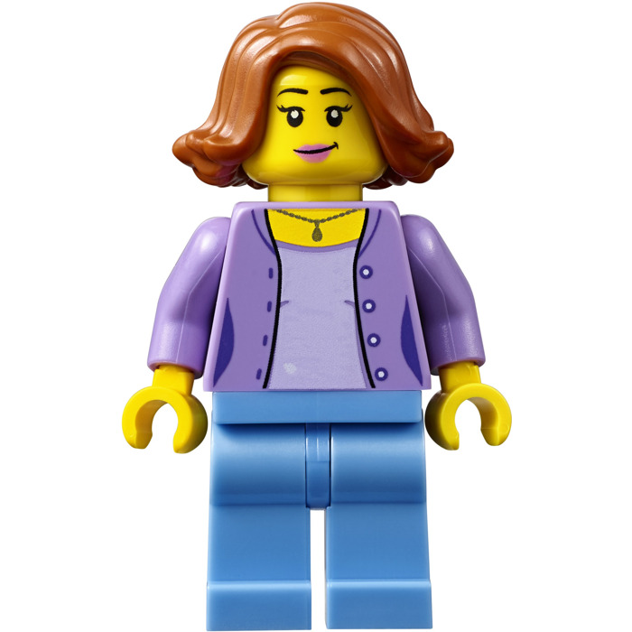 Lego City People Pack Mother Minifigure Inventory Brick