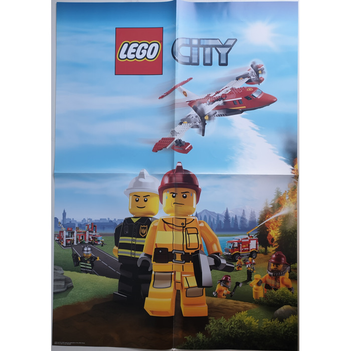 Lego City Poster Forest Police 6003370 Brick Owl Lego Marketplace