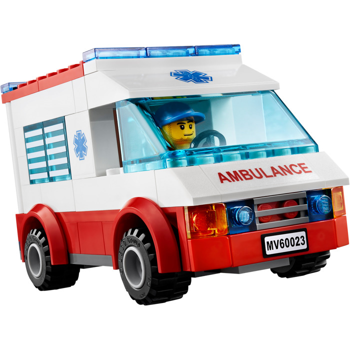 lego ambulance instructions 60023