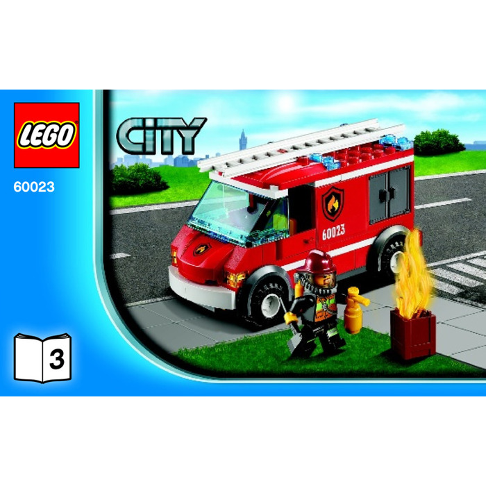 lego ambulance instructions 60023