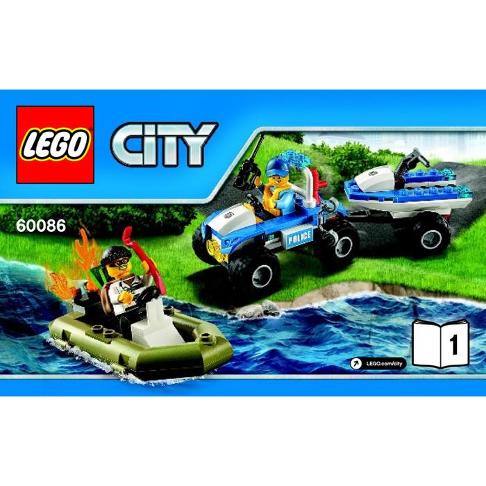 Lego City Starter Set 60086 Instructions Brick Owl Lego Marketplace