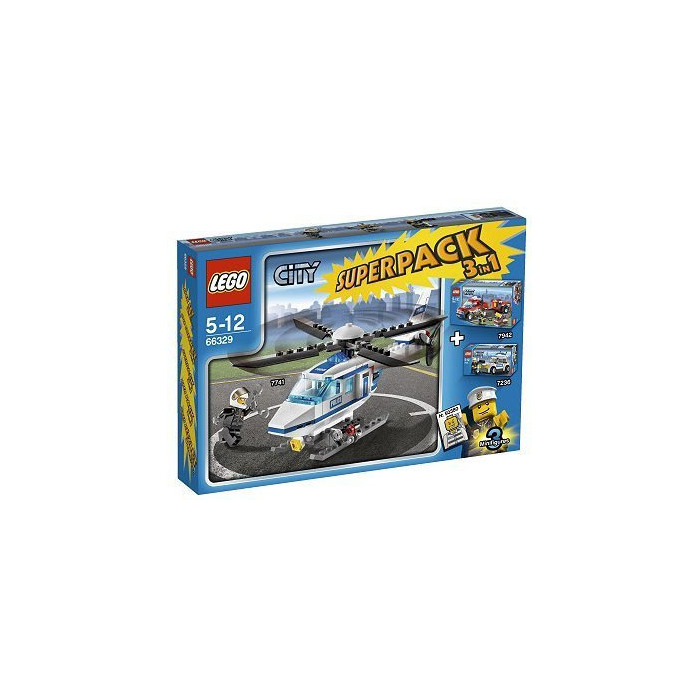 lego police car set 7236 comes in brick owl lego marketplace. Black Bedroom Furniture Sets. Home Design Ideas