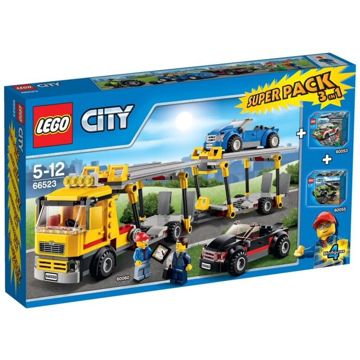 lego city super pack 3 in 1 set 66523 brick owl lego marketplace. Black Bedroom Furniture Sets. Home Design Ideas