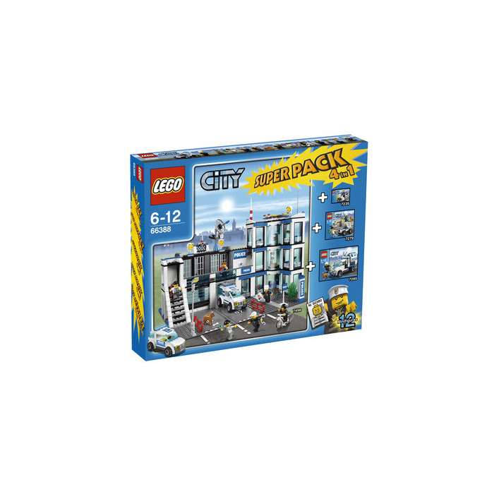 lego police minifigure collection set 7279 comes in brick owl lego marketplace. Black Bedroom Furniture Sets. Home Design Ideas