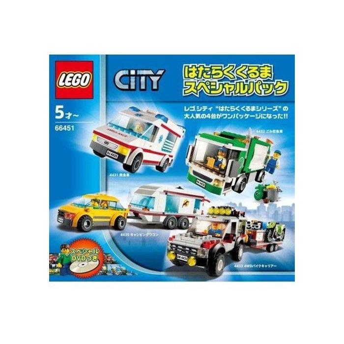 lego caravan instructions 60117