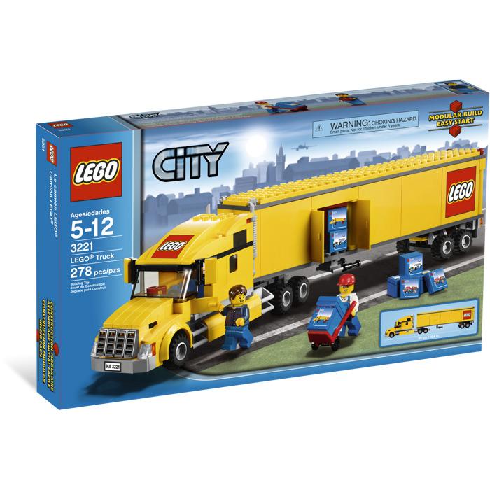 Lego city truck set 3221 brick owl lego marketplace - Modele construction maison lego ...