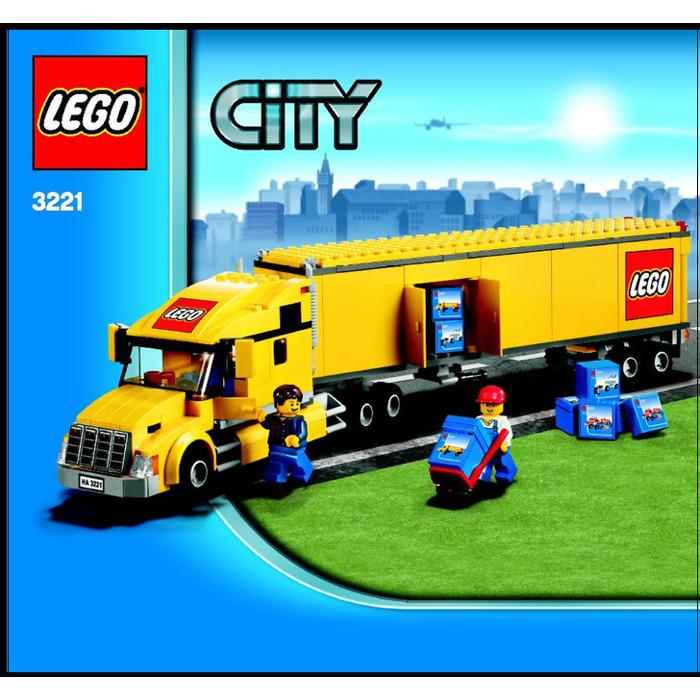 LEGO City Truck Set 3221 Instructions | Brick Owl - LEGO ...Lego City Truck Instructions