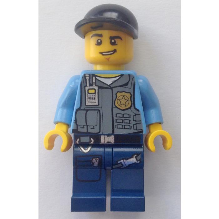 Lego City Undercover Elite Police Officer Minifigure Brick Owl