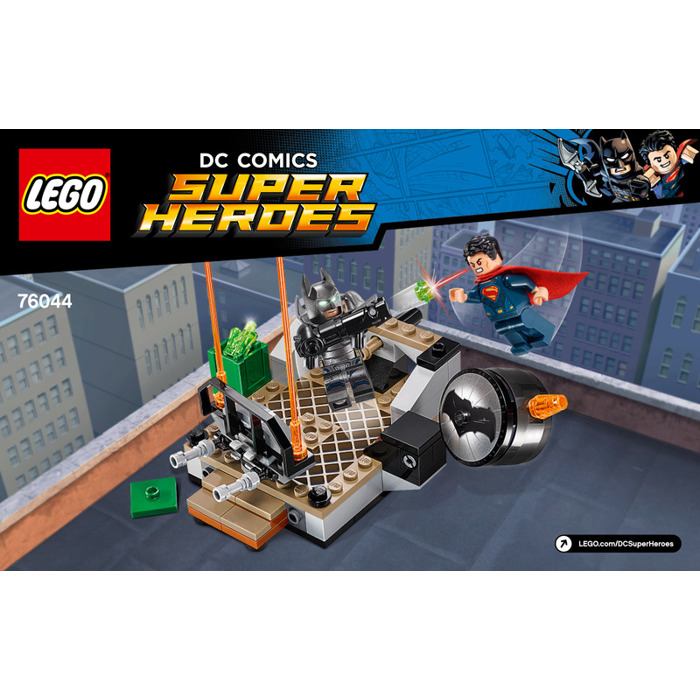 LEGO Clash of the Heroes Set 76044 Instructions | Brick ...