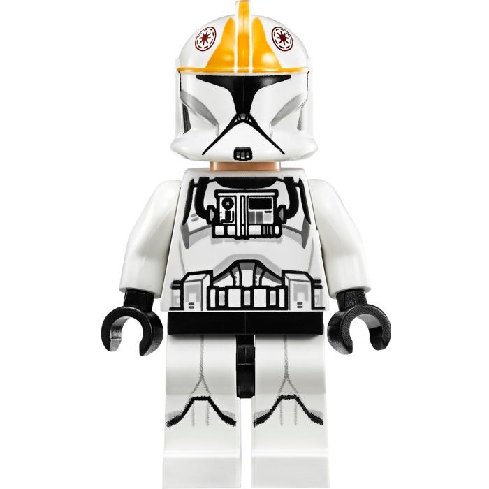 Lego Minifigure Starwars Clone Pilot Helmet 124