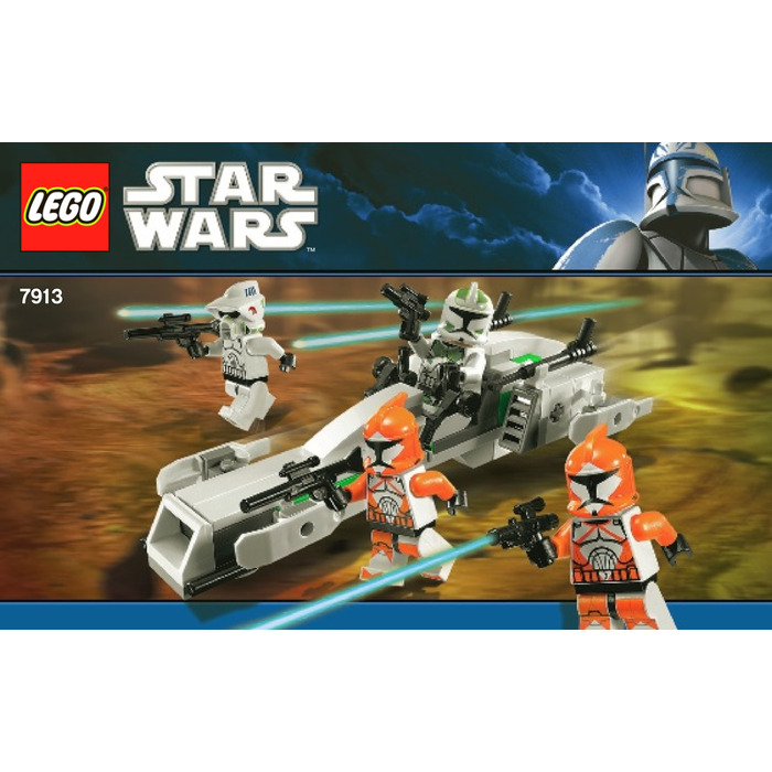lego clone trooper battle pack instructions