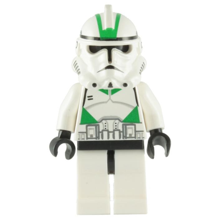 Lego Clone Trooper Episode 3 Seige Battalion With Green Markings Minifigure Brick Owl Lego Marketplace