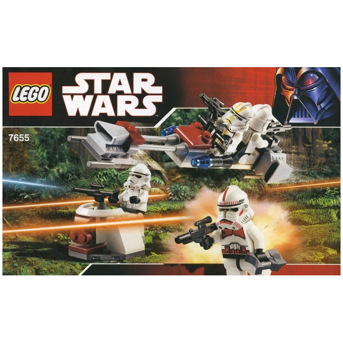 Lego Clone Troopers Battle Pack Set 7655 Brick Owl Lego Marketplace