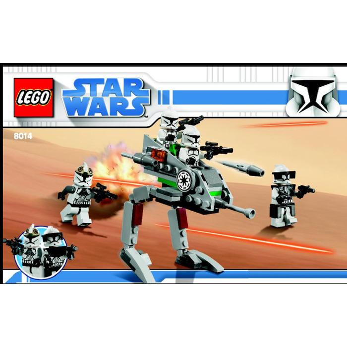 Lego Clone Walker Battle Pack Set 8014 Instructions Brick Owl