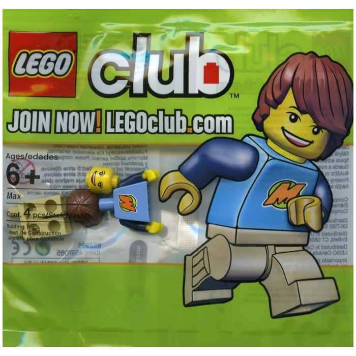 Lego max from the lego club minifigure comes in brick for Maison moderne lego