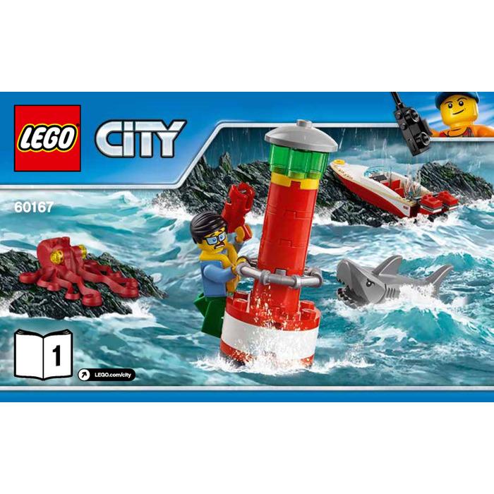 Lego Coast Guard Headquarters Set 60167 Instructions Brick Owl