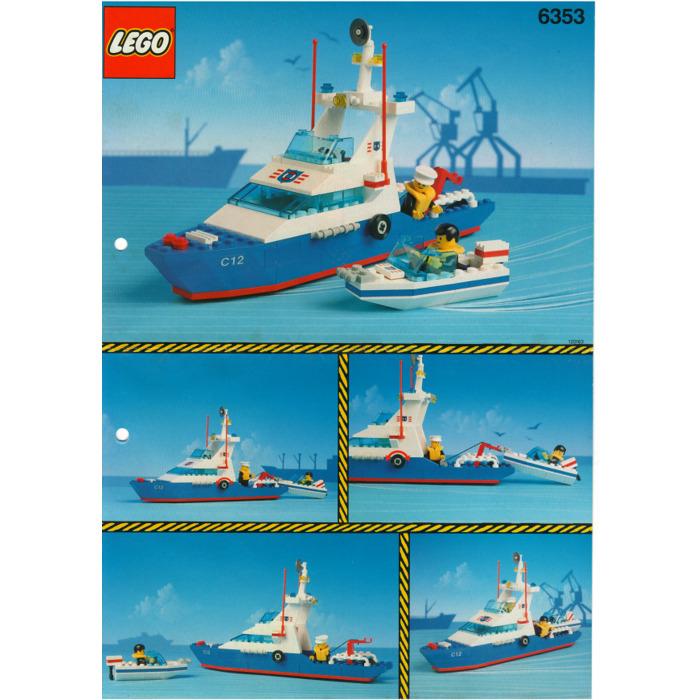 Lego Coastal Cutter Set 6353 Instructions Brick Owl Lego Marketplace