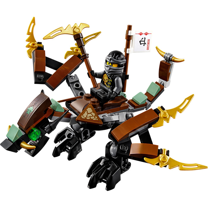Lego Ninjago Dragon LEGO Cole's...