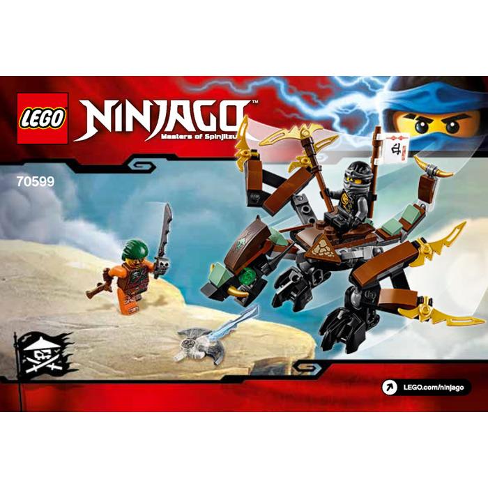 LEGO Cole's Dragon Set 70599 Instructions | Brick Owl - LEGO ...