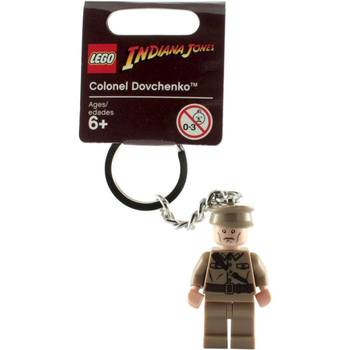 LEGO Indiana Jones Colonel Dovchenko Keychain