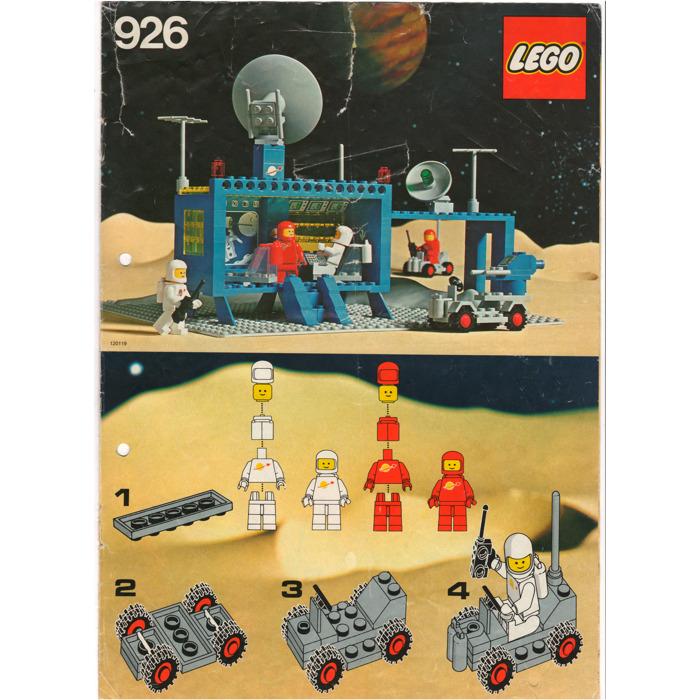 Lego Command Centre Set 926 Instructions Brick Owl Lego Marketplace