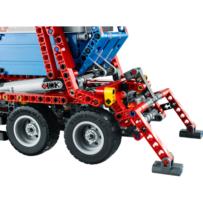 lego technic container truck instructions
