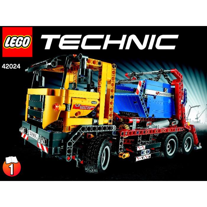 Lego Container Truck Set 42024 Instructions Brick Owl Lego