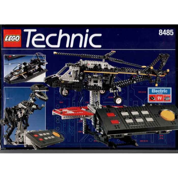 LEGO Control Centre II Set 8485 Instructions