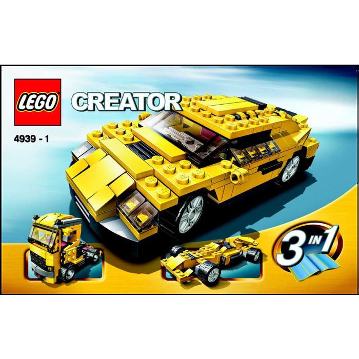 Lego Cool Cars Set 4939 Instructions Brick Owl Lego Marketplace