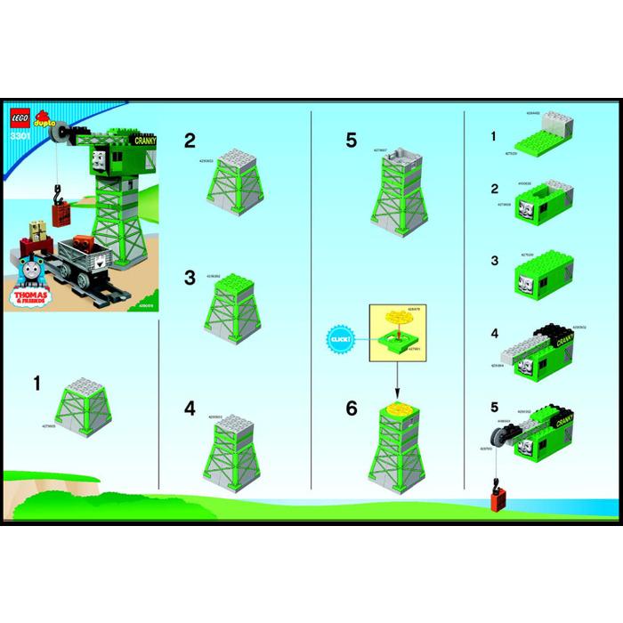 Lego Cranky Loading Crane Set 3301 Instructions Brick Owl Lego