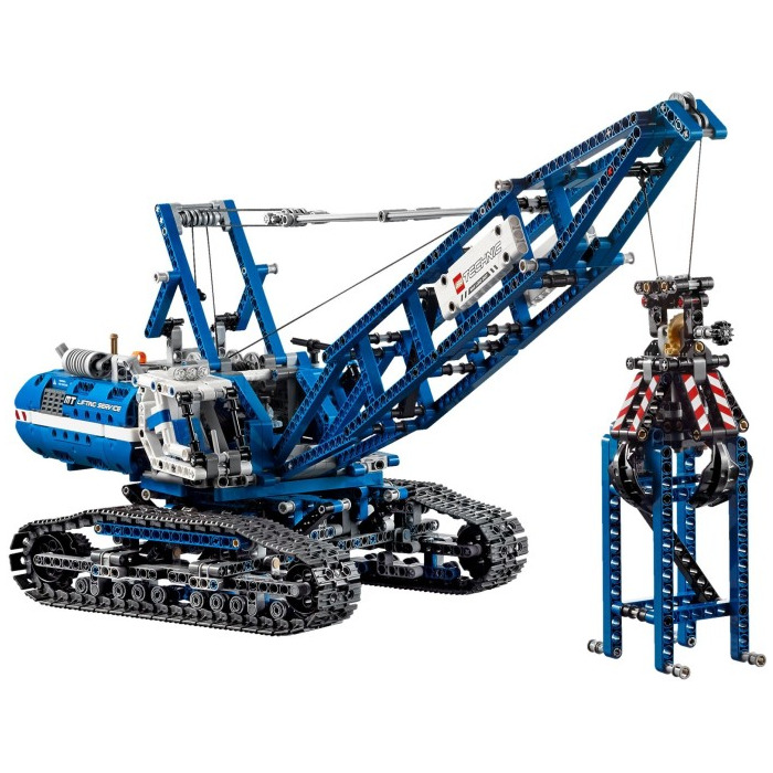 lego crawler crane set 42042 brick owl lego marketplace. Black Bedroom Furniture Sets. Home Design Ideas