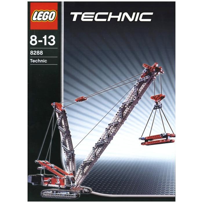 lego technic crawler crane instructions