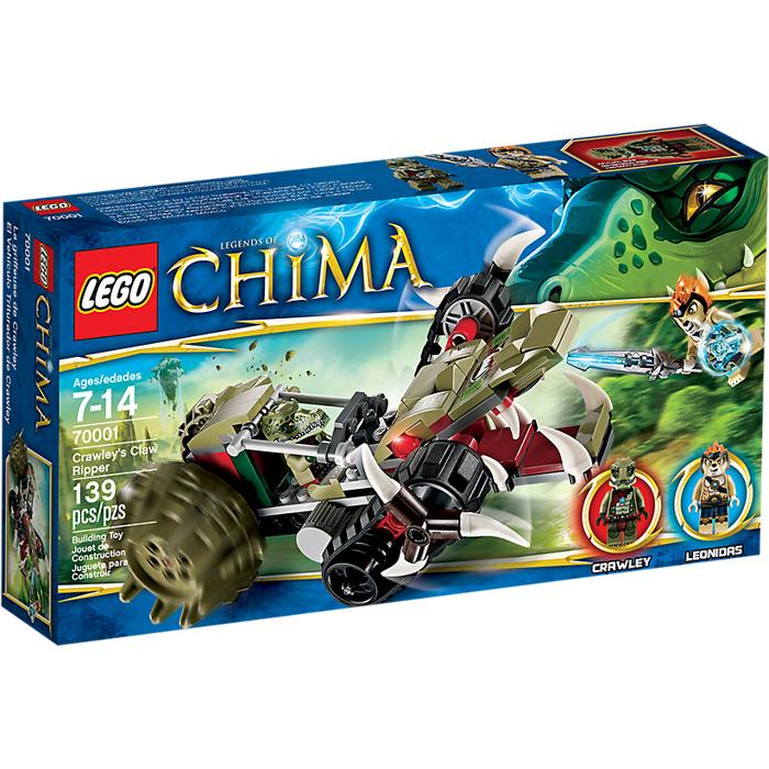 Lego crawley 39 s claw ripper set 70001 brick owl lego marketplace - Image de lego chima ...