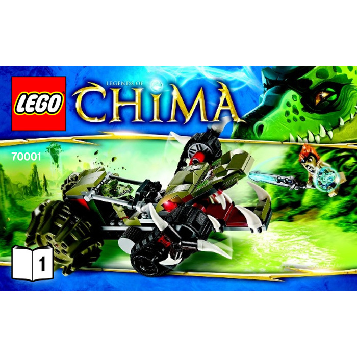 Lego Crawleys Claw Ripper Set 70001 Instructions Brick Owl Lego