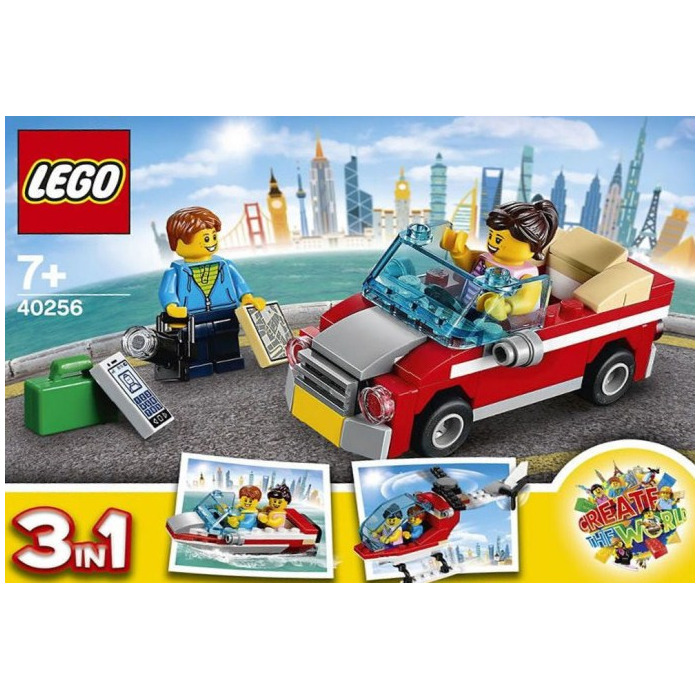 Brick 4x4 Slope 45° Inverted NEUF NEW blanc white 2 x LEGO 72454 Brique Pente