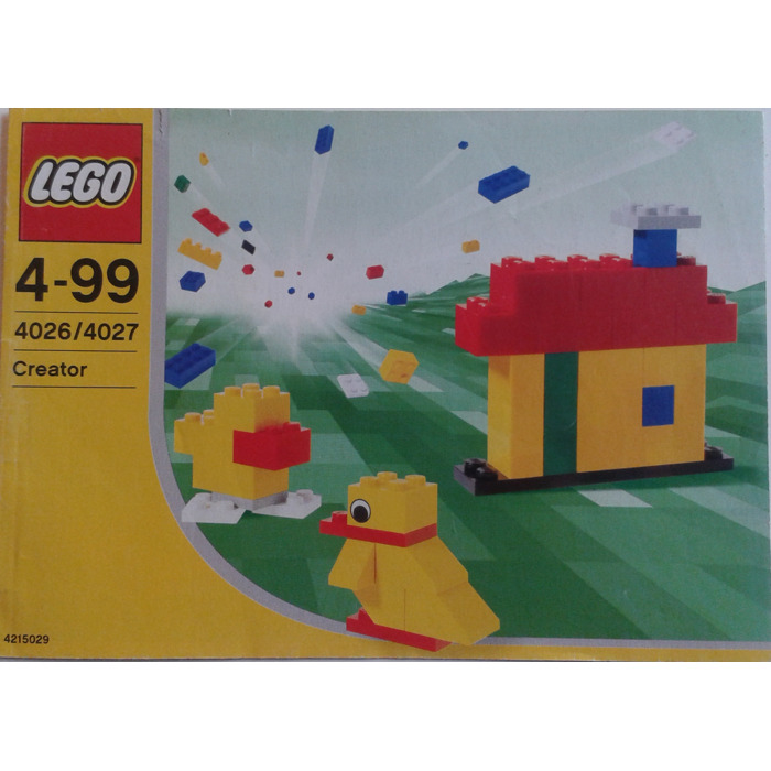 Lego Create Your Dreams Set 4026 Instructions Brick Owl Lego