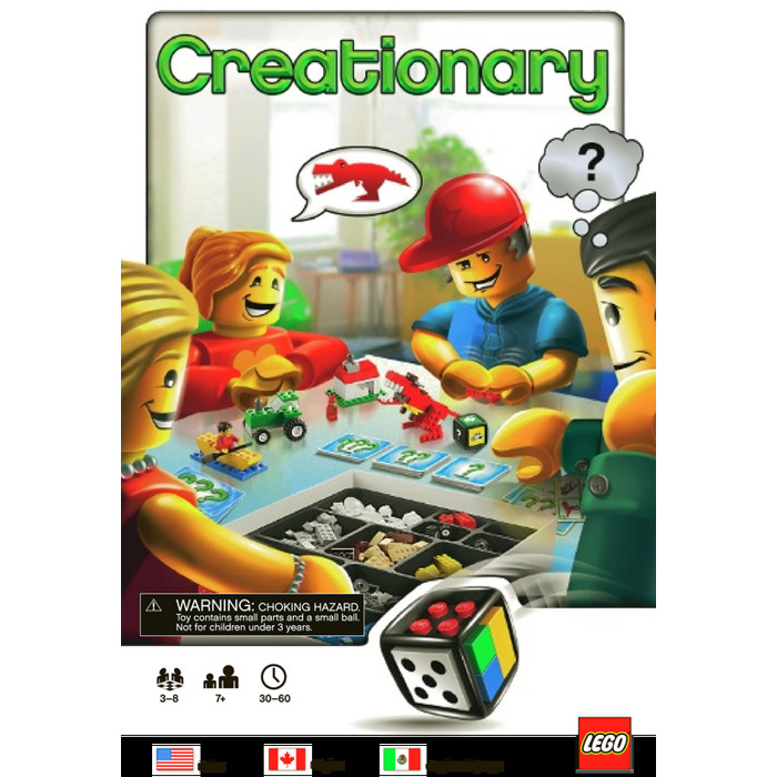 Lego Creationary 3844 Instructions Brick Owl Lego Marketplace