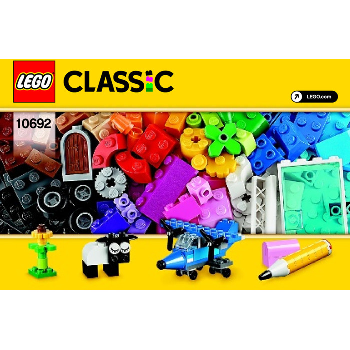 LEGO Creative Bricks Set 10692 Instructions