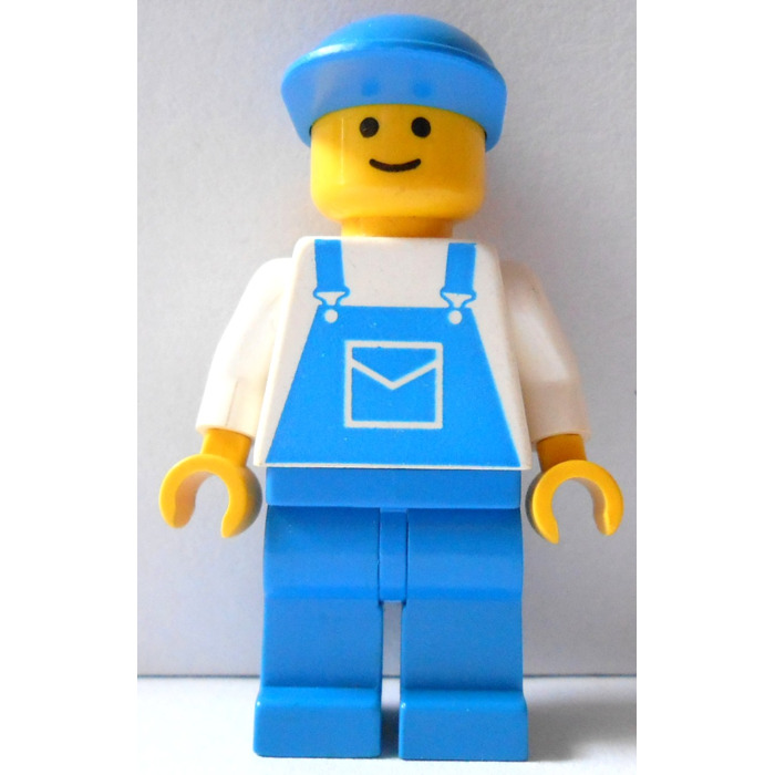LEGO Creator Board Male, Blue Overalls Minifigure