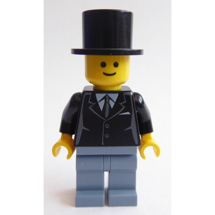 LEGO Holiday MiniFigure w// Broom /& Top Hat Snowman