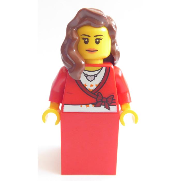 LEGO Brown Girl Hair For Minifigure 85974
